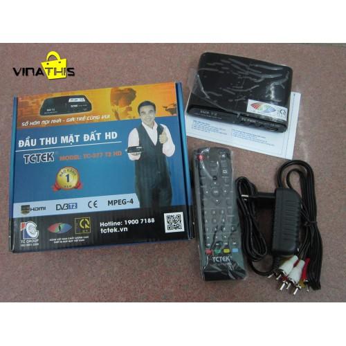 ĐẦU THU DVB T2 TCTEK TC377 thương hiệu Quyền Linh