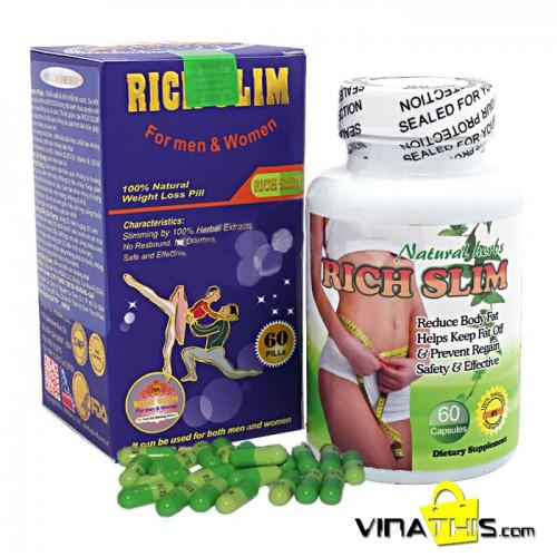 Rich Slim USA Chính hãng - Viên giảm cân hiệu quả và an toàn