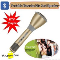 Micro karaoke Bluetooth cho iphone, ipad, máy tính model K068i