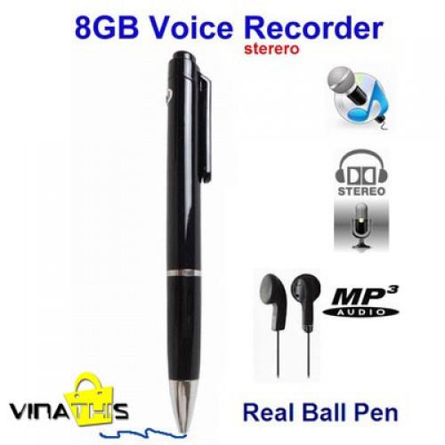 Máy ghi âm hình cây viết - bút ghi âm 8Gb