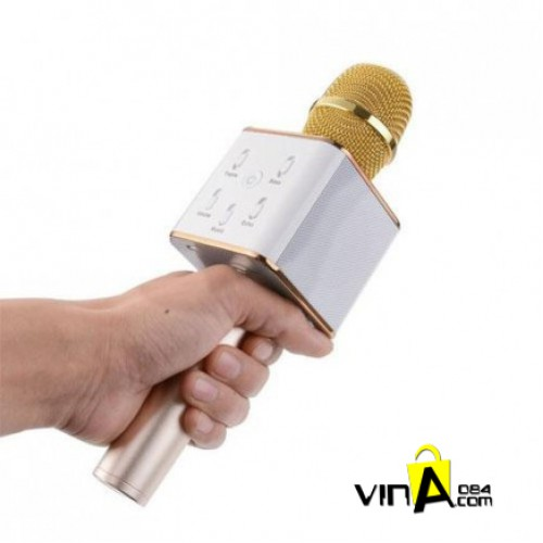Khuyến mãi Micro karaoke Bluetooth Q7