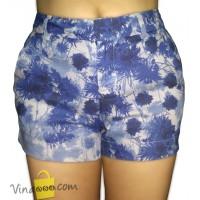 Quần Short nữ Zara Kaki - Màu xanh Hoa